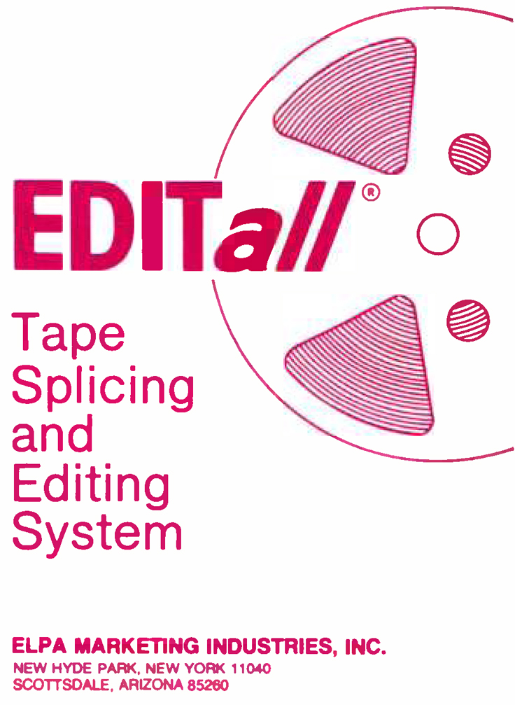 EdiTall Manual Cover