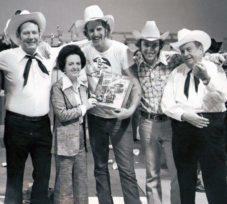 Ray Benson Floyd Domino with Bob Wills