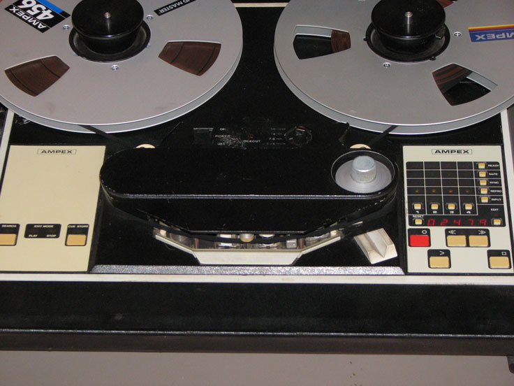 Ampex ATR-100 professional reel t reel tape recorder in the Reel2ReelTexas.com vintage recording collection