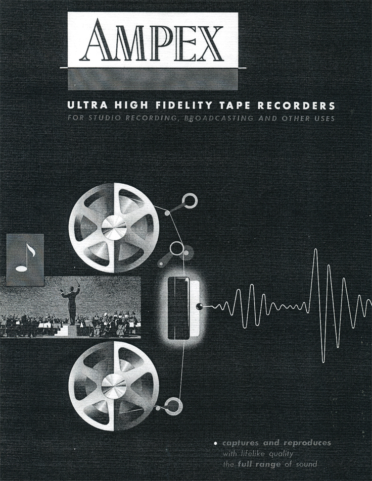 1954 Ampex Full Line Catalog in the Reel2ReelTexas.com - Museum of Magnetic Sound Recording vintage recording collection