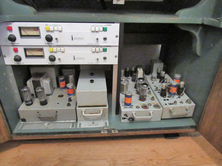 Ampex 200A in Museum of MAgnetic Sound Recording collection