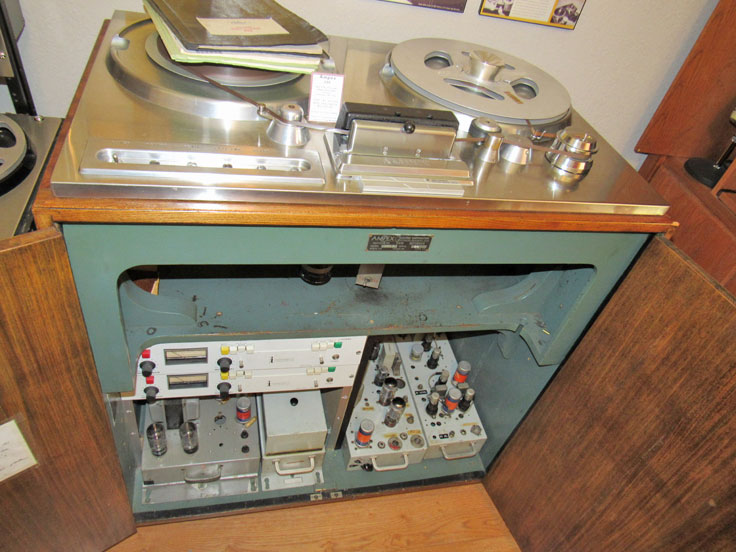 Ampex 200A reel to reel tape recorder in the Reel2ReelTexas.com vintage recording collection