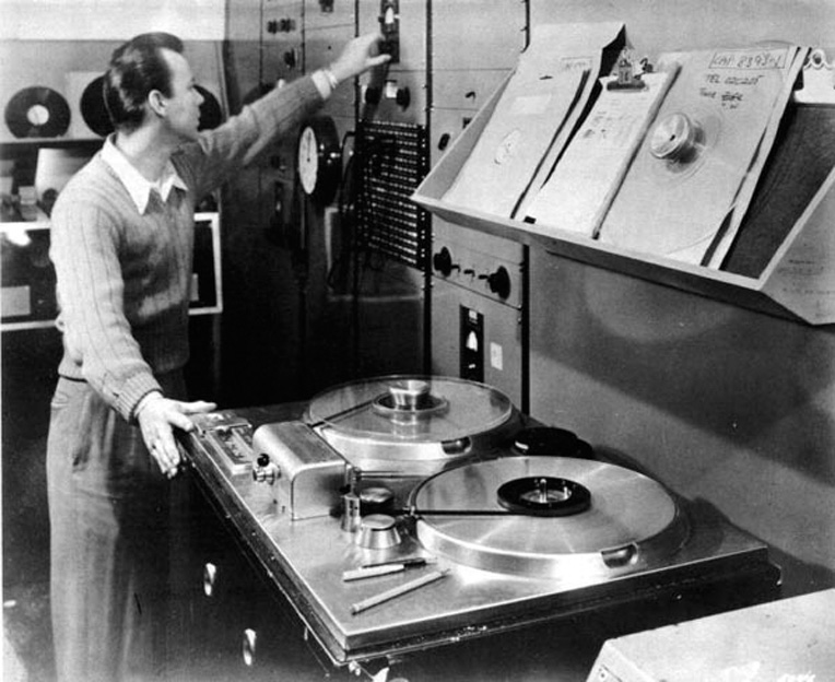 Ampex 200 at Capitol Records in 1948