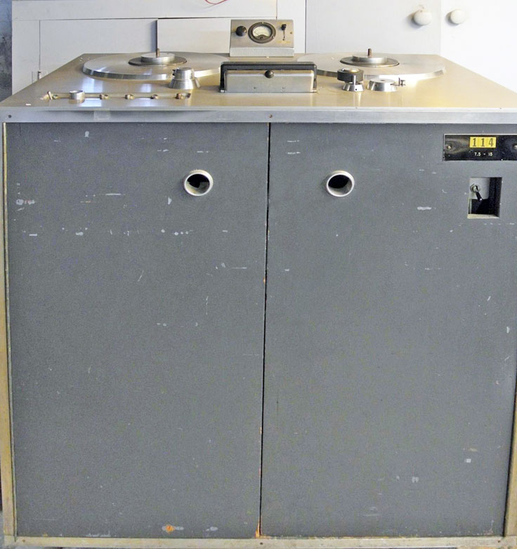 Ampex 201 in Museum of MAgnetic Sound Recording collection