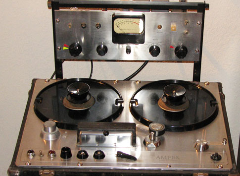 Ampex 300 in the reel2reeltexas.com and Museum of Magnetic Sound Recording vintage reel tape recorder recording collection
