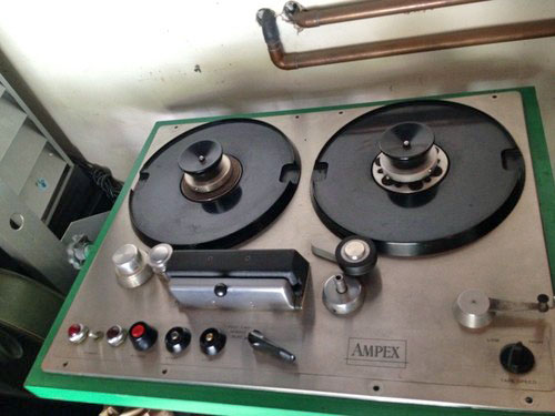 Ampex 300 four track submitted to our Museum by third party