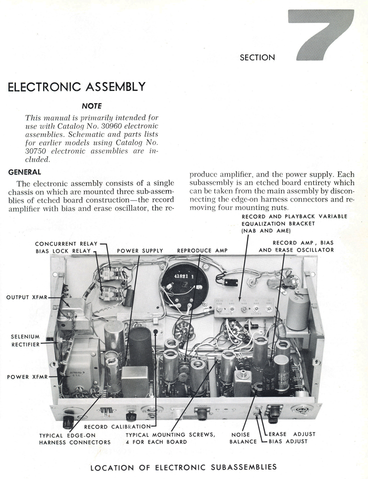Manual for the Ampex 300 professional reel to reeel tape recorder in the Reel2ReelTexas.com vintage recording collection