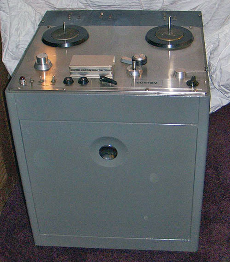 Ampex Custom reel to reel tape recorder photo in the Reel2ReelTexas - Museumof Magnetic Sound Recording vintage tape recording collection