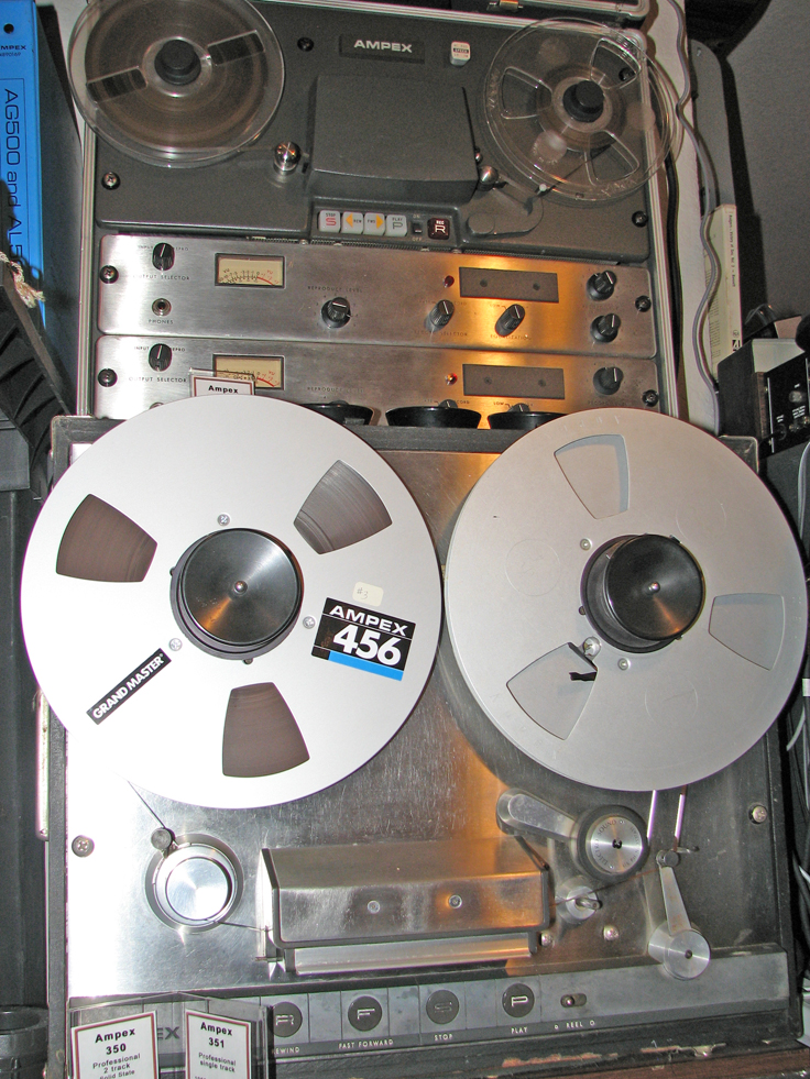 Ampex AG-500 pro reel to reel tape recorder in the Yeel2ReelTexas.com vintage recording collection