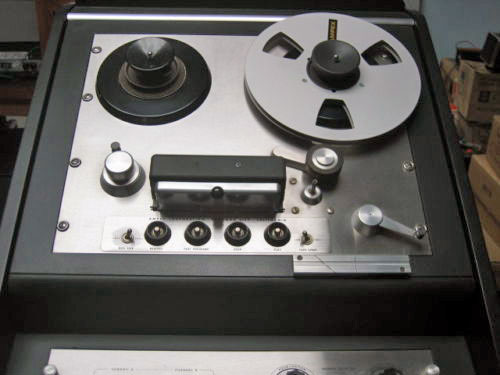 Ampex 354 Pro reel to reel tape recorder  photo in the Reel2ReelTexas.com - Museum Of Magnetic Sound Recording vintage recording collection