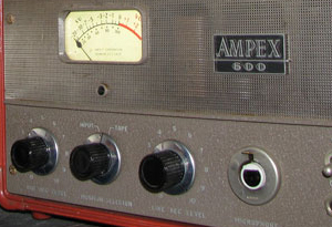 Ampex 600 reel tape recorder in the Reel2ReelTexas.com vintage reel tape recorder recording collection