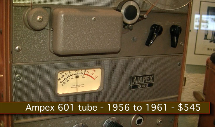 Ampex 601 reel tape recorder in the Reel2ReelTexas.com vintage recording collection