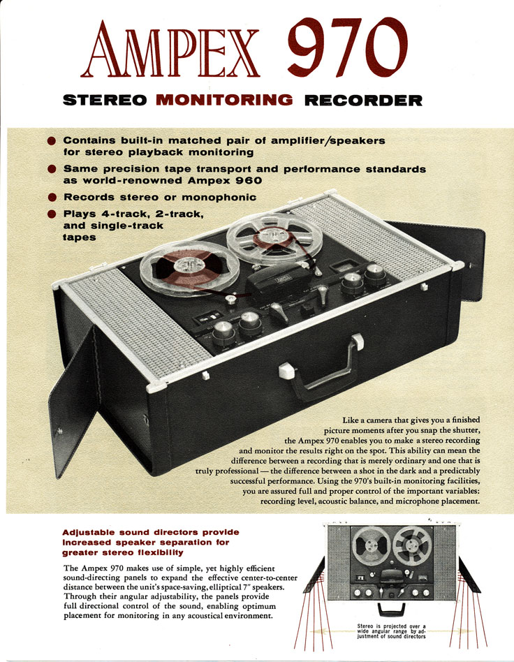 D Models Collection Exhibition Amp Event : Ampex reel tape recorders the museum of