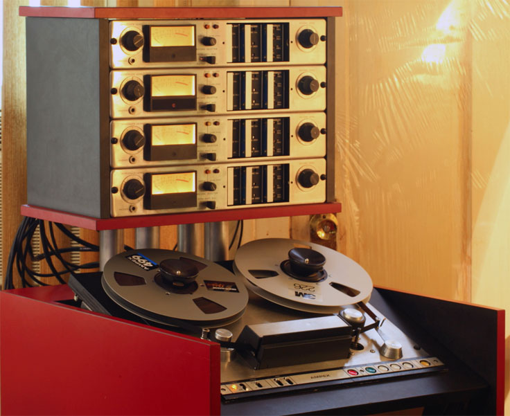 Ampex Ag 440 Mono Reel Tape Recorder The Museum Of