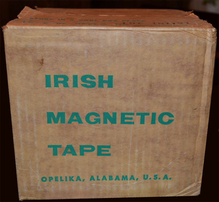 Original ORRadio tape which was later bought by Ampex  - ad in the Reel2ReelTexas.com vintage recording museum