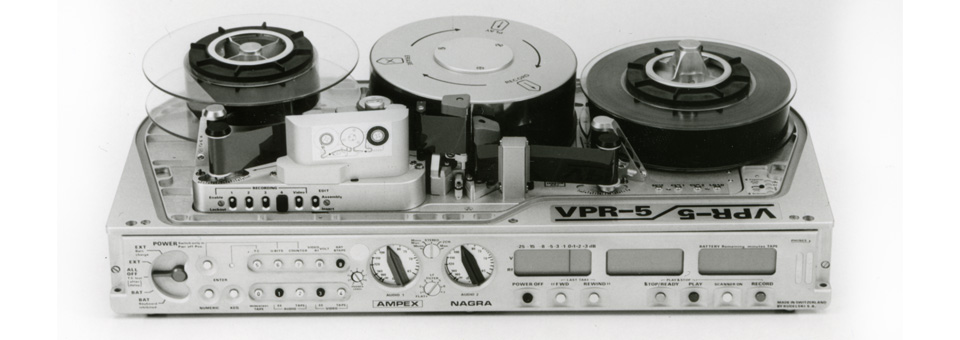 Joint Ampex Nagra protable broadcast recorder VPR-5