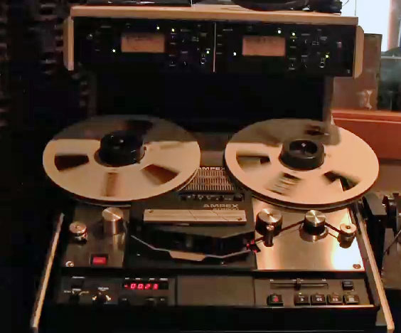 Ampex ATR800 in the Reel2ReelTexas.com vintage recording collection