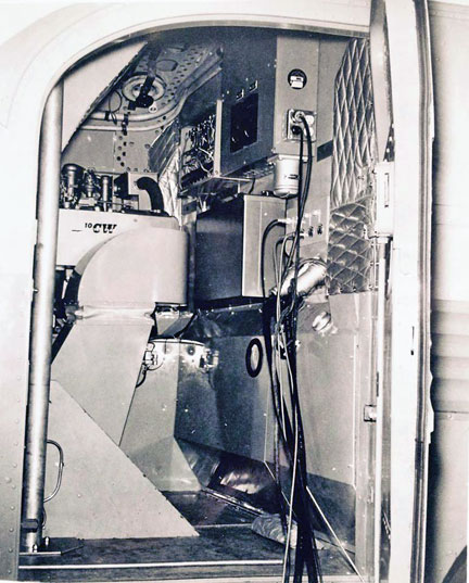 1958 Ampex Video Flxible Eyebrow Starliner - photos provided by Larry Blomberg