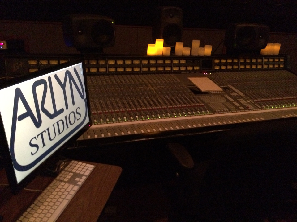 Arlyn photo take by Martin Theophilus of Neve/API console for the Museum of MAgnetic Sound Recording