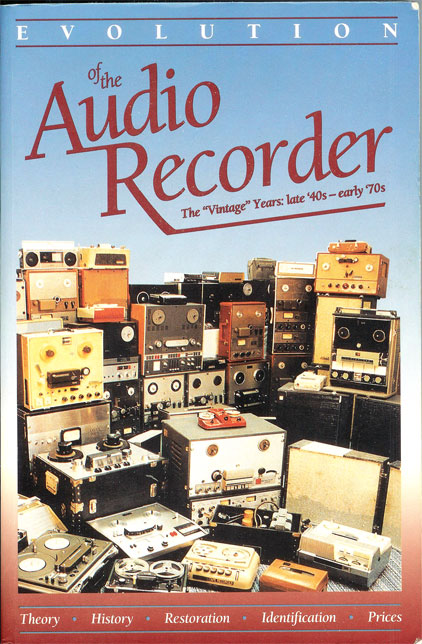 picture of Phil Van Praag's book 'volution of the Audio Recorder""
