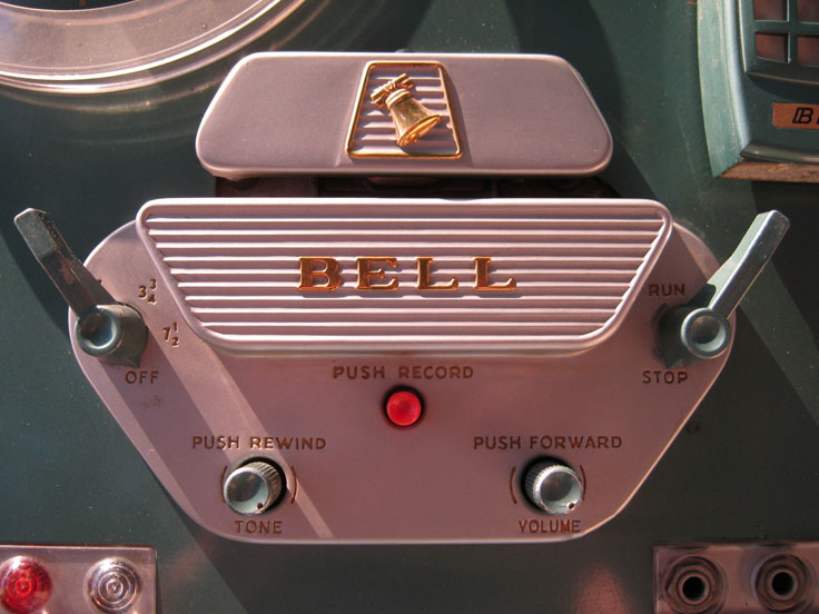 Bell Sound Systems RT-75 tape recorder Museum of Magnetic Sound Recording