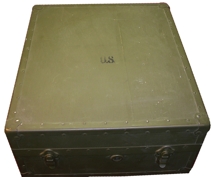Robert Metzner's Pacific Sound Equipment Company's military transcription turntable in the Reel2ReelTexas.com vintage reel tape recorder recording collection