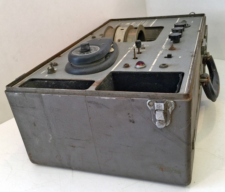 Brush BK 313 VRW-4wire reel to reel recorder - U.S Navy - photos provided by Judy Dalton not2bright.com