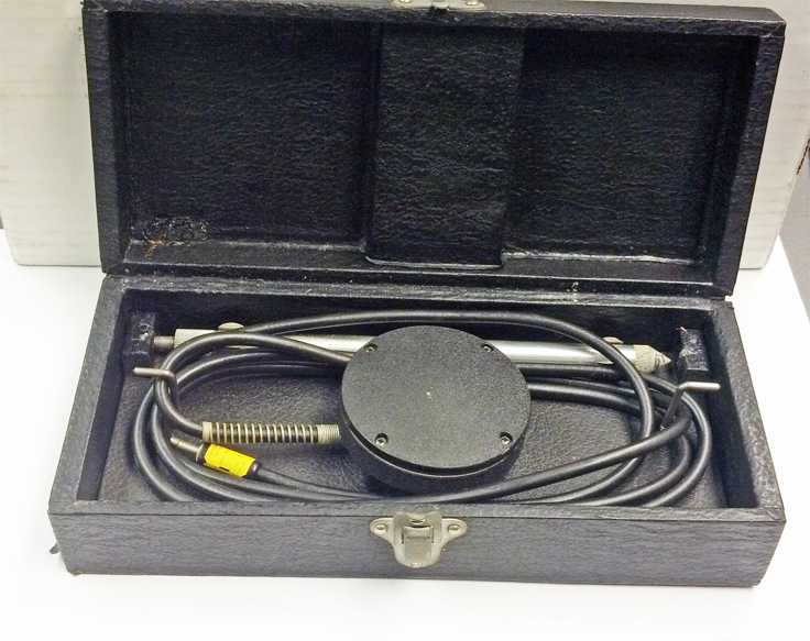 Brush BL-301 Vibration Transducer donated to the Museum by Dave Meyers of Overkill Audio, Inc.