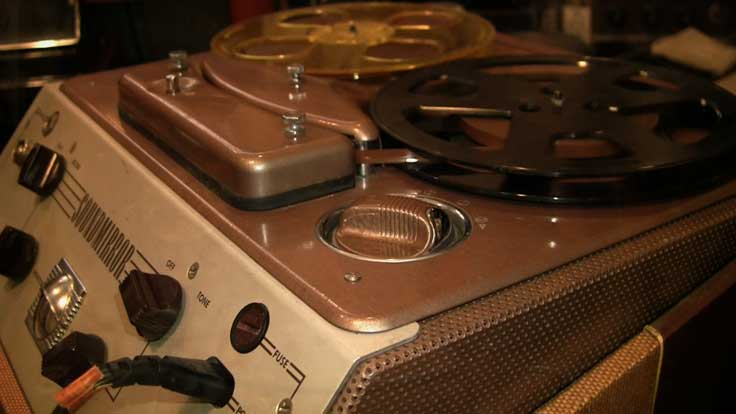 1953 Brush Electronics Company BK-455 reel to reel tape recorder in the Reel2ReelTexas.com vintage recording collection