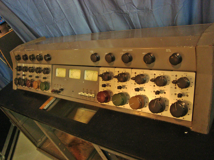 Custom Vintage Tube Recording Console- Columbia Records