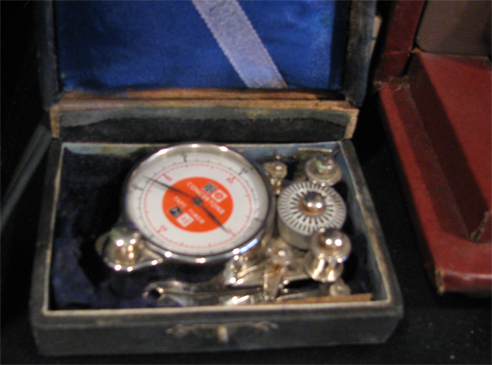 Concertone Tape Timer in wooden box in the Reel2ReelTexas.com vintage reel tape recorder recording collection