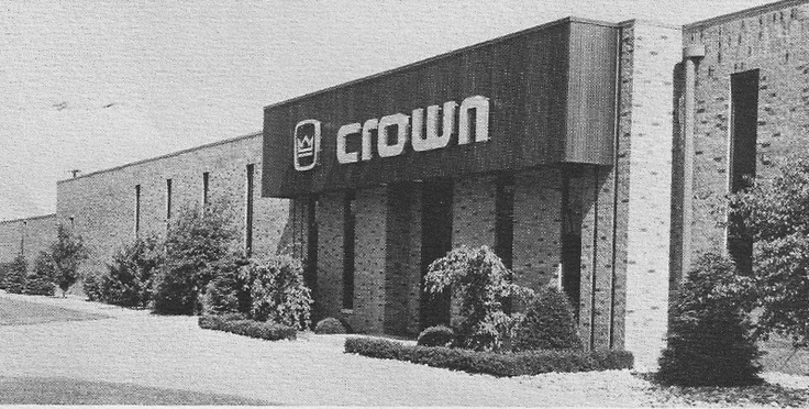 Crown International, Inc.  building photo in the Reel2ReelTexas.com vintage recording collection