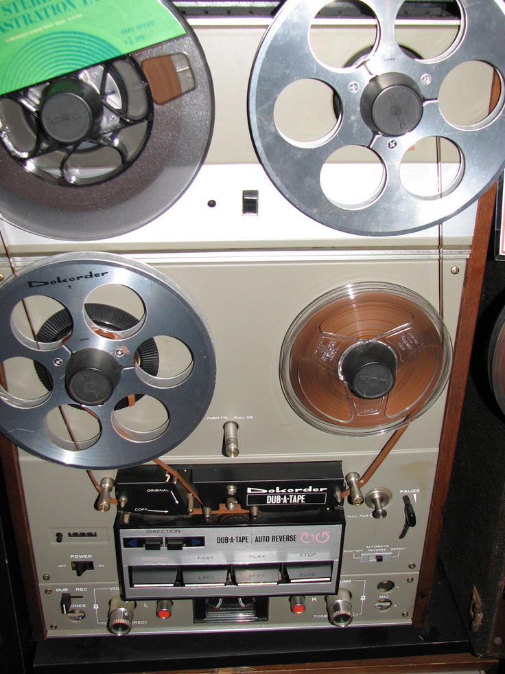 Dokorder 8020 reel to reel tape recorder in the Reel2ReelTexas.com vintage recording collection
