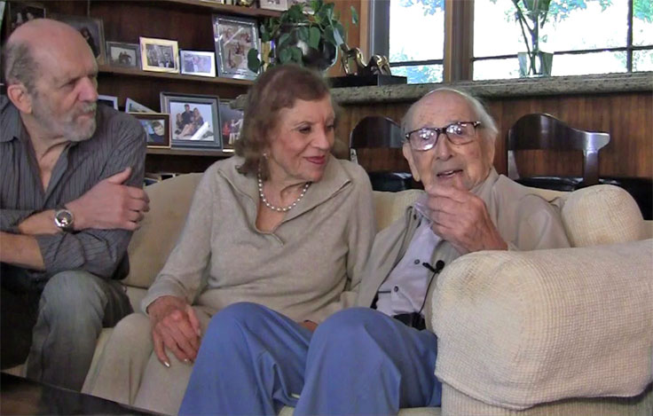 Dr. Richard Metzner, Esther Metzner and Robert G. Metzner
