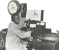 Lavada Durst was the first African-American disc jockey in Texas.