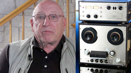 Ed Helvey interview at the Museum of Magnetic sSound Recording