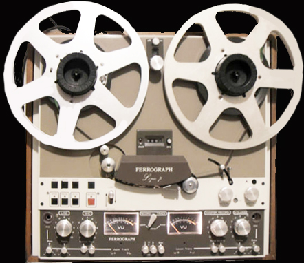 Ferrograph Logic 7 Model 7622H reel to reel tape recorder photo in the Museum of magnetic Sound Recording