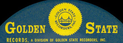 logo for Golden State Recorders Records Studio