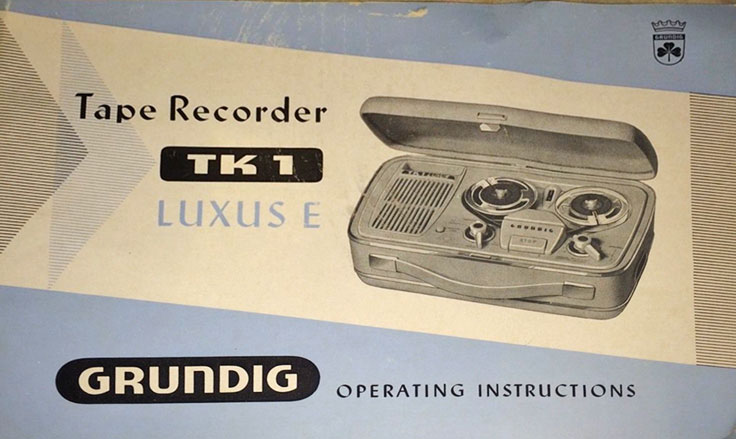 United Kingdon Spectone reel to reel tape recorder in the Reel2ReelTexas.com vintage recording collection