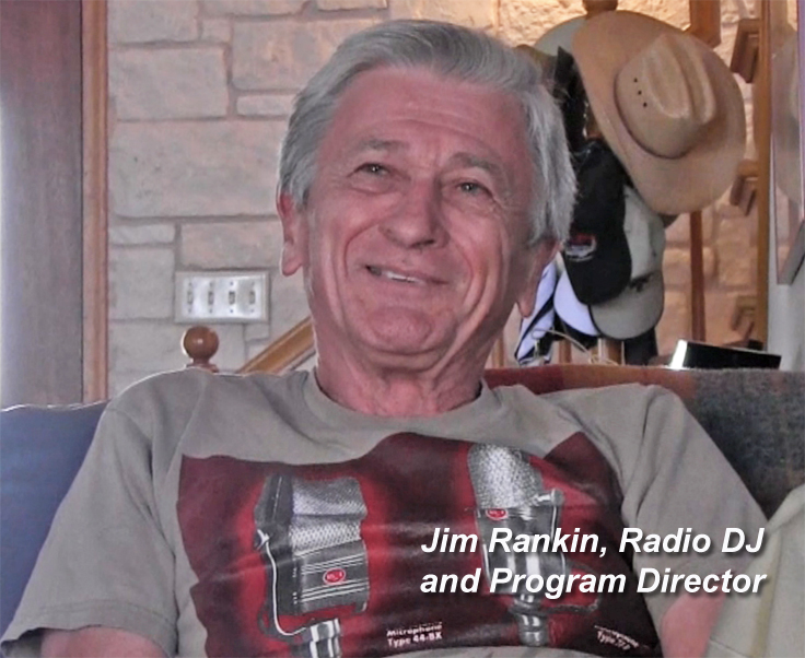 Jim Rankin, retired radio DJ and Program Director