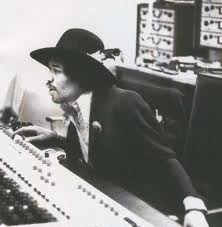 Jimi Hendrix with Scully 280A 4 track recorders