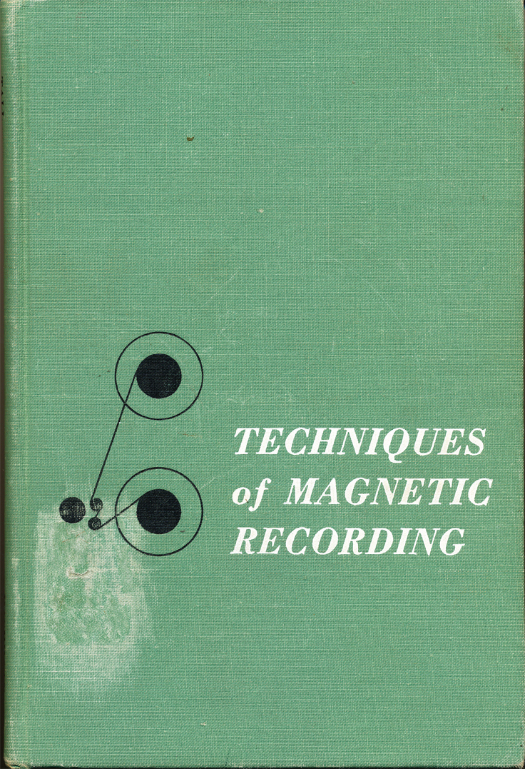 "Joel Tall's book ""Techniques of Magnetic Recording"""