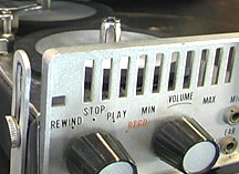Lloyd reel to reel tape recorder in the Reel2ReelTexas.com vintage recording collection