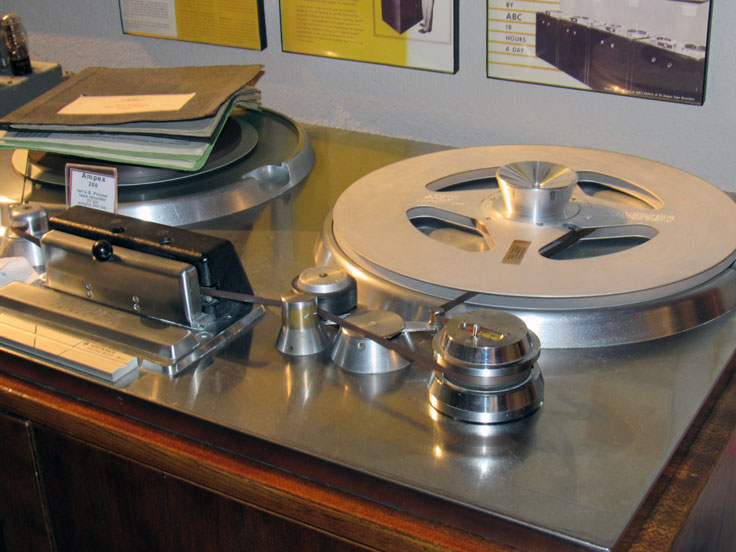 Lyrec TIM-4 counter on our Ampex 200A reel to reel tape recorder in the Reel2ReelTexas.com vintage reel tape recorder recording collection