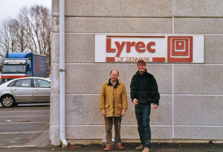 Photos of the Lyrec offices in 2007 were donated by Jacob in Denmark to the Museum of Magnetic Sound Recording vintage reel tape recorder recording collection