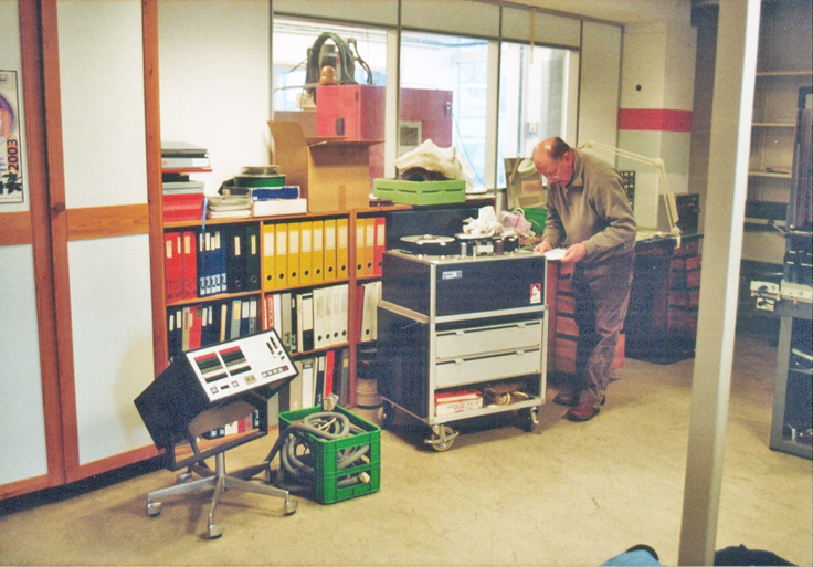 Photos of the Lyrec offices in 2007 were donated by Jacob in Denmark to the Museum of Magnetic Sound Recording vintage recording collection
