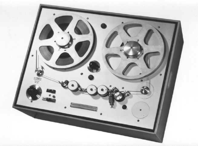 Lyrec broadcast reel to reel tape recorder photo in the Reel2ReelTexas.com vintage recording collection