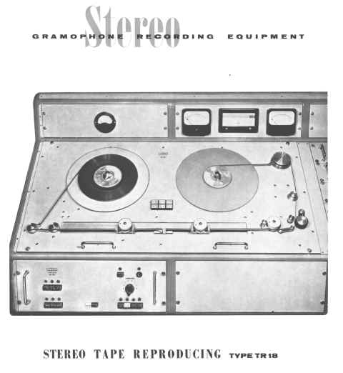 Lyrec TR18 Preview playback reel tape recorder machine for disc cutting photo in the Museum of magnetic Sound Recording