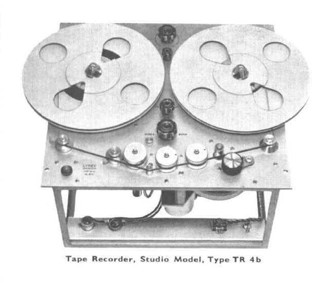 Lyrec TR4 reel to reel studio tape recorder photo in the Museum of Magnetic Sound recording