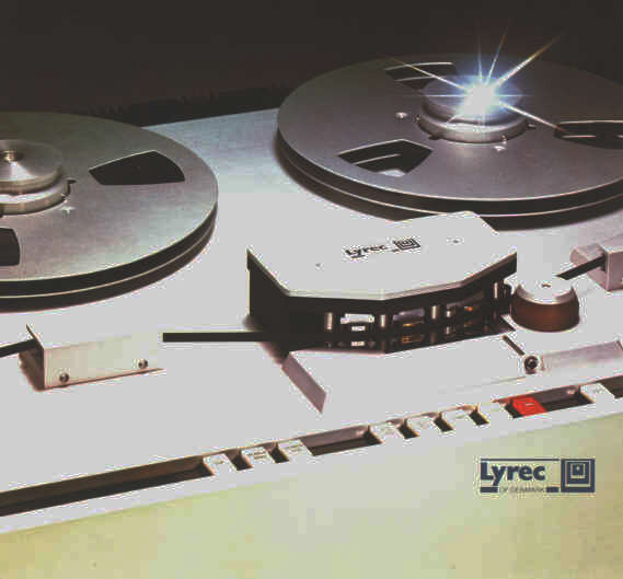 Lyrec TR55 professional   reel to reel tape recorder photo in the Reel2ReelTexas.com vintage reel tape recorder recording collection